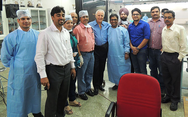 Dr-B-with-surgeons-and-residents-Deli-India